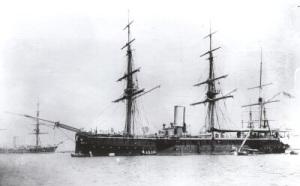 The HMS Calypso in her glory days.