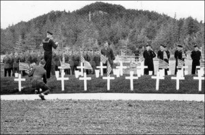 Graves of the victims of the wrecks USS Truxtun and USS Pollux.